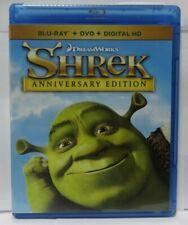 Shrek Anniversary Edition (Blu-ray/Dvd, 2015, Digital Copy has Expired)