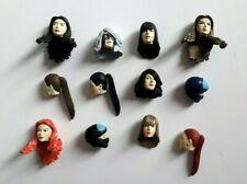 Exclusive Action Force GI JOE Custom COBRA FEMALE HEADS Figure Figurine Lot