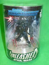 Star Wars UNLEASHED Shadow Stormtrooper figure display Black Hole trooper
