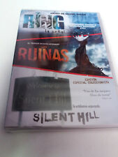 "DVD ""THE RING / LAS RUINAS / SILENT HILL"" 3DVD PRECINTADO SEALED"