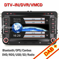 Autoradio TNT GPS DAB+ USB for VW Passat Golf Polo Tiguan Touran EOS Seat Skoda