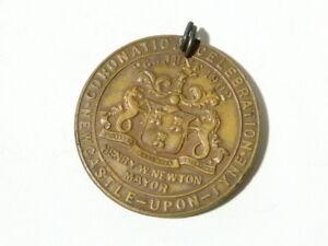 1902 Edward VII Coronation Celebration Medal Newcastle upon Tyne #G61
