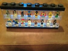 Complete Set of Lego Collectible Minifigures Series 1 With Showcase