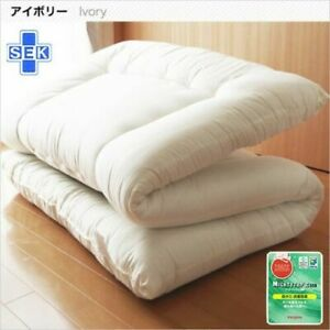 New teijin futon shikifuton matress dust proof ivory japan with cover