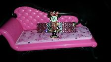 Crystals & MINNIE MOUSE Betsey J. BARRETTE Pink/Clear