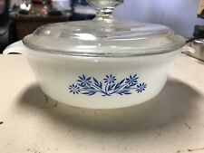 Anchor Hocking Fire King 7 1/2 Inch Bowl With Lid