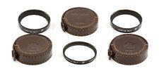 Nikon F Nikkor Close-Up Filter Set (No.0, No.1, No.2)! Good Condition!