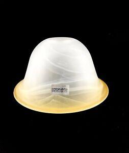 Vetro di ricambio bianco paralume per applique lampadari in ferro LISCIO AMBRA