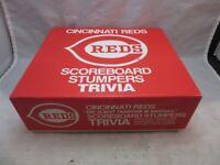 Cincinnati Reds Scoreboard Stumpers Trivia Game