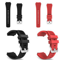 Silicone Bracelet Strap Watch Band For Samsung Gear S3 Frontier/Classic 22mm G