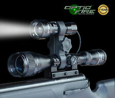Opticfire TX-38 T38 XML LED ZOOM scope gun light lamping kit hunting rifle torch