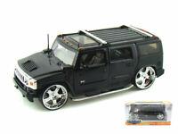 Coche Auto Tuning diecast miniaturas Hummer H2 Escala 1:24 miniaturas Coche