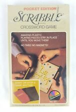Pocket Edition Scrabble Travel Game Vintage 1978 Selchow & Righter