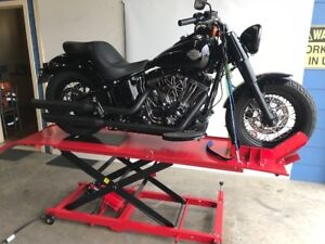 MOTORCYCLE LIFT BENCH, HOIST, AIR /HYD LIFT WORK BENCH 450kg (MB6003H)