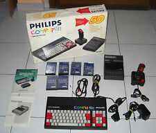 Console PHILIPS COMPUTER MSX-DOS in BOX OTTIMO completo Pc compatible