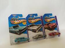 Hot Wheels - '64 chevy NOVA - Station Wagon - '12 camaro, '66 chevy NOVA - 3lot
