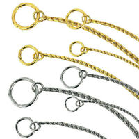 Dog Show Snake Chain Collar  - Guardian Gear - Puppy - Choose Size & Color