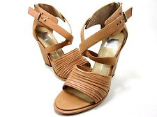 DOLCE VITA, NICOLA SANDAL, WOMENS, NUDE LEATHER, US 8.5M, NEW WITHOUT THE BOX