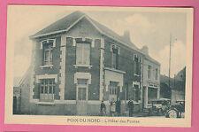 59 - POIX DU NORD - L'Hôtel des Postes (Non écrite - Animation et voitures)