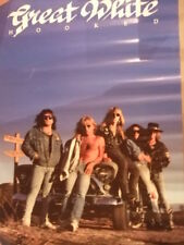 Great White Hooked In-Store Promo Poster
