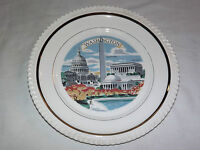 VINTAGE 1960-70S WASHINGTON LINCOLN MEMORIAL    SOUVENIR PLATE