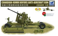 Bronco 1/35  Canadian 40mm Bofors Anti-Aircraft Gun #35028