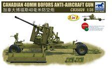 Bronco 1/35  Canadian 40mm Bofors Anti-Aircraft Gun #35028