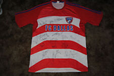 FC DALLAS SIGNED 2011 REPLICA MLS SOCCER JERSEY
