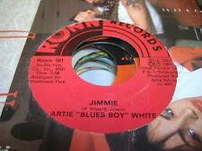 "Blues 45 ARTIE ""BLUES BOY"" WHITE What Pleases You Pleases Me on Ronn"