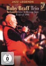 Ruby Braff Trio - Live In Concert ( DVD )  NEW / SEALED