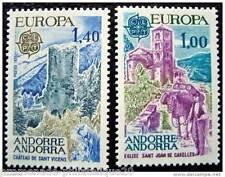 ANDORRE FRANCAIS timbre stamp - Yvert et Tellier n°261 et 262 n**