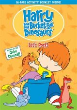 HARRY AND HIS BUCKET FULL OF DINOSAURS LET'S ROCK New DVD 8 Episodes