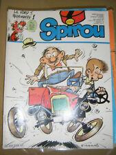 Spirou N° 2329 1982 BD Les schtroumpfs Aurore et Ulysse Mic Mac Adam Ginger