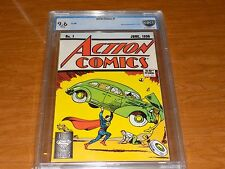 Action Comics #1 (1988) CBCS 9.6,Fist App,THE PERFECT GIFT FOR THAT SUPERMAN FAN