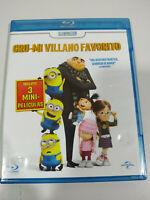 Gru Mi Villano Favorito + 3 Mini Peliculas - Blu-Ray + DVD Español Ingles