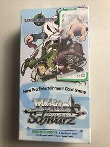 WeiB (Weiss) Schwarz Log Horizon English Sealed Extra Booster Box