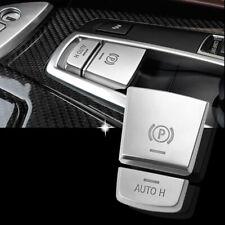 Interior Auto H E Brake Parking Button Cover Silver For 11-16 F10 F07 535i Gt M5