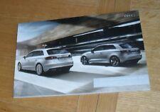 Audi A3 & Sportback Brochure 2012-2013 SE Sport S Line 1.6 2.0 TDI 1.4 1.8 TFSI