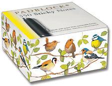 Garden Birds Sticky Post It Note Pad Blocco TACCUINO BLOCCO NOTE BOOK libro regalo