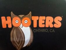 Men's T-Shirt Hooters Ontario Ca. black size X large xl