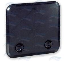 TRAPPE DE VISITE PVC NOIR 280 X 375 MM AVEC CLE