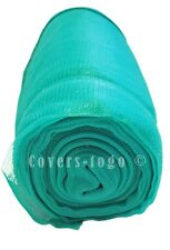 Green Debris Netting 3M X 50M For Garden Scaffold Sheeting Allotments Windbreak