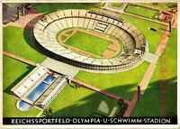 AK Berlin, Reichssportfeld-Olympia. U. Schwimm-Stadtion, 08/02-N