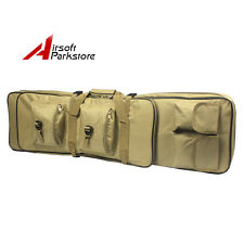 "38"" Tactical Military Hunting Rifle Gun Carrying Case Bag Backpack Pack Tan"