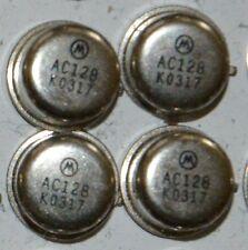 AC128 transistor al germanio motorola NUOVO!  4 PEZZI