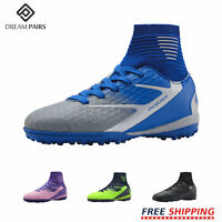 DREAM PAIRS Kids Boys Girls Soccer Shoes Athletic Indoor Training Football Shoes