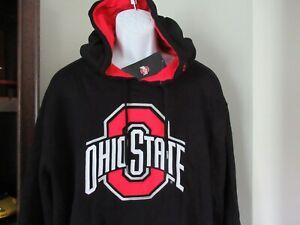 Ohio State Buckeyes Hoodie Sweatshirt Men's 2XL nwt Free Ship