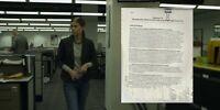 House of Cards Kate Mara Prop Documents Season 1 Education Reform Shredded (B)
