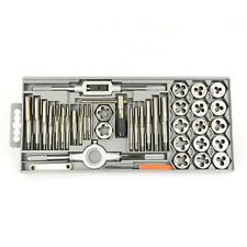 Kaufhof TDSAE40 40 Piece Carbon Steel SAE Tap and Die Set