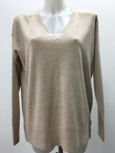WOMEN'S PRINCIPLES SUPERSOFT RELAXED V NECK JUMPER SWEATER SIZE 12 BNWT